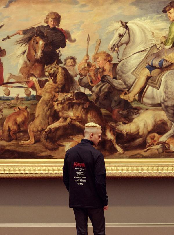 Heron Preston SHOWstudio Death on a Pale Horse Shirt-1