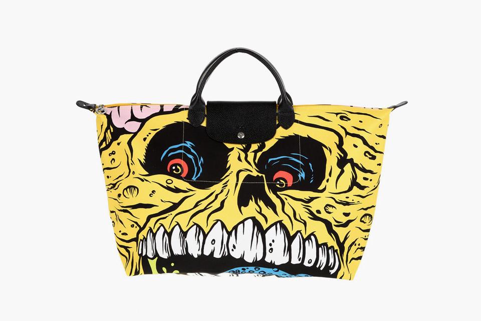 Longchamp x Jeremy Scott x Madballs Pliage Bag