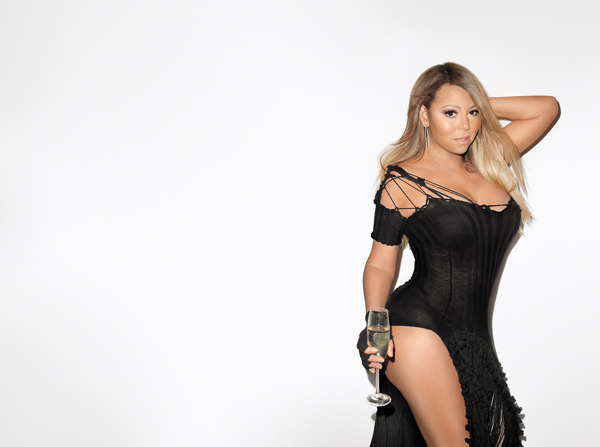 Mariah Carey photographed by Terry Richardson