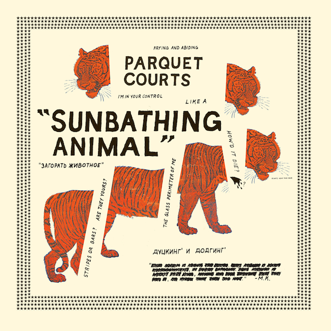 """Parquet Courts """"Instant Dissassembly"""""""