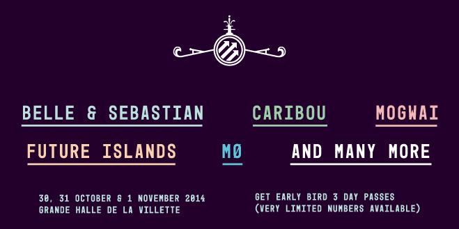 Pitchfork Music Festival Paris 2014 Lineup
