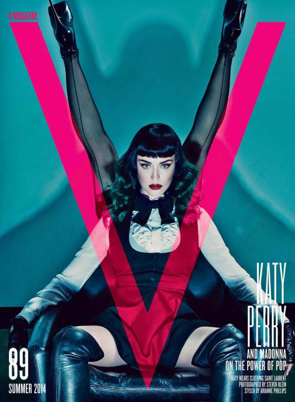 Katy Perry and Madonna for V Magazine #89-2
