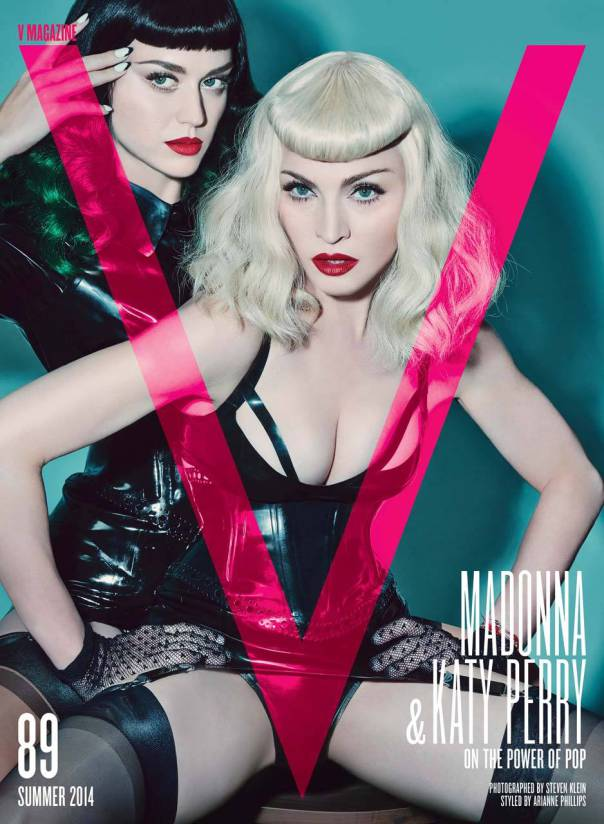 Katy Perry and Madonna for V Magazine #89