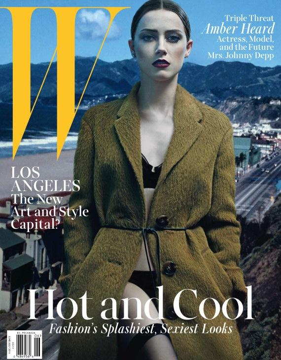 Amber Heard for W Magazine June July 2014