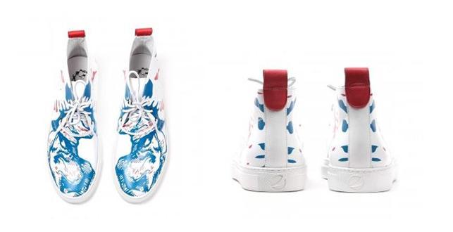 Del Toro x Pepsi Live For Now Jaz Alto Chukka Sneaker