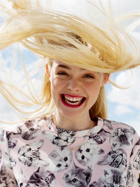 Elle Fanning for ASOS Summer 2014-2
