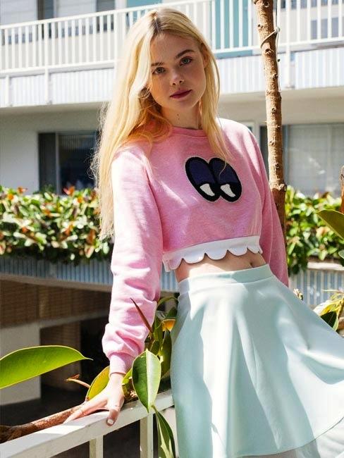 Elle Fanning for ASOS Summer 2014-3