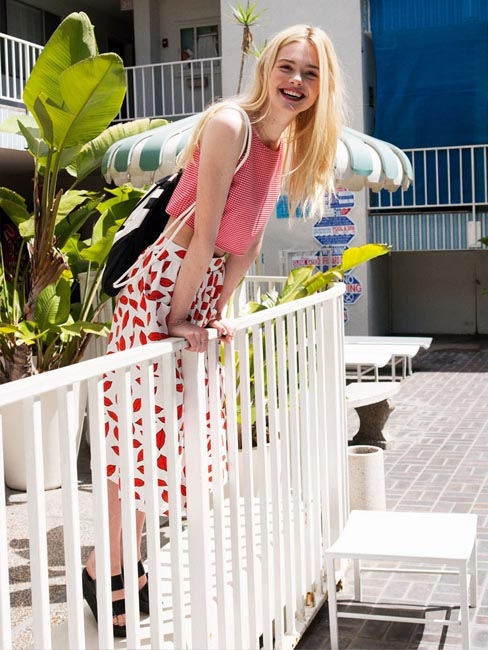 Elle Fanning for ASOS Summer 2014-6