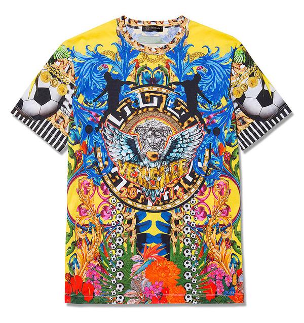 Versace Loves Brazil T-shirt