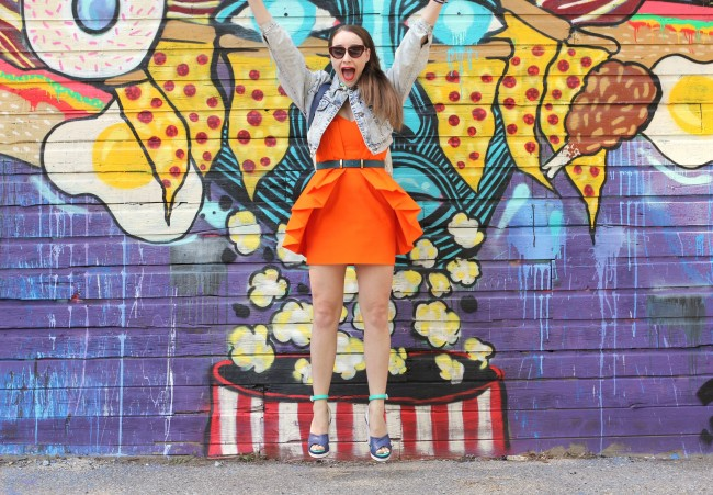 What I Wore Summer Brights