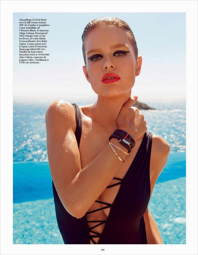 Natasha Poly & Anna Ewers for Vogue Paris-10