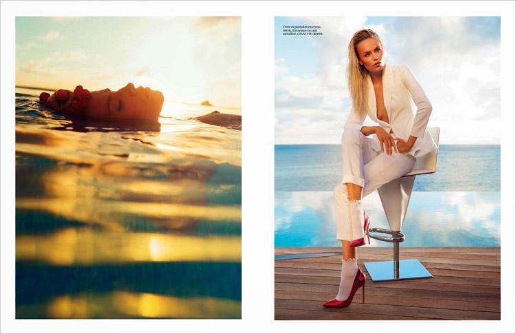 Natasha Poly & Anna Ewers for Vogue Paris-16