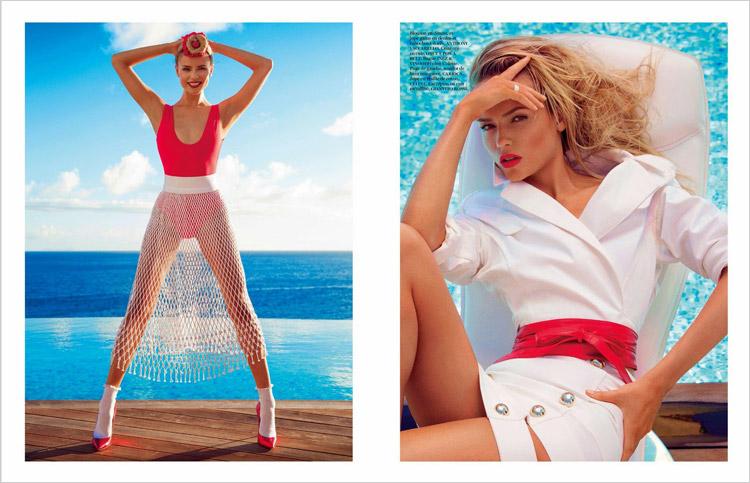 Natasha Poly & Anna Ewers for Vogue Paris-4
