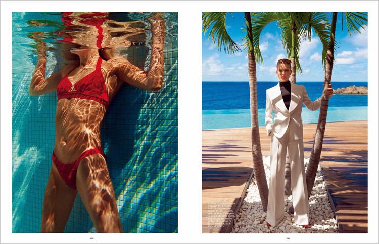 Natasha Poly & Anna Ewers for Vogue Paris-5