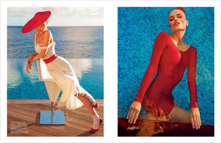 Natasha Poly & Anna Ewers for Vogue Paris-7