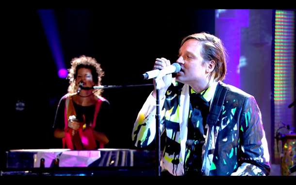 Arcade Fire We Exist on Later With Jools Holland