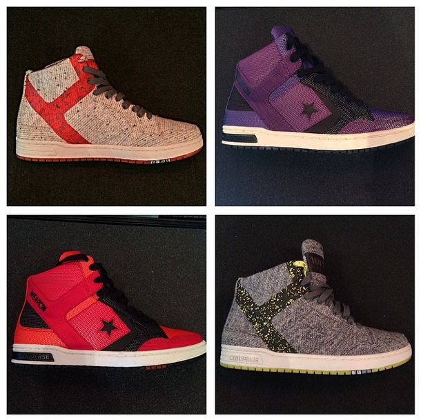 Converse CONS Weapon Fall 2014 Preview