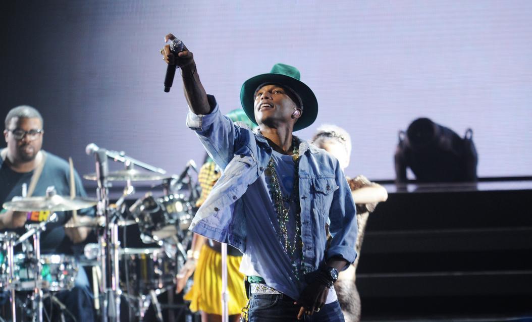 Pharrell Williams Amex Unstaged