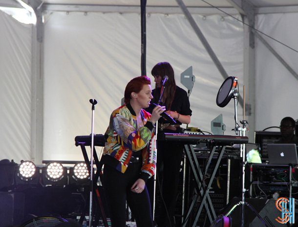 La Roux at Governors Ball 2014-2