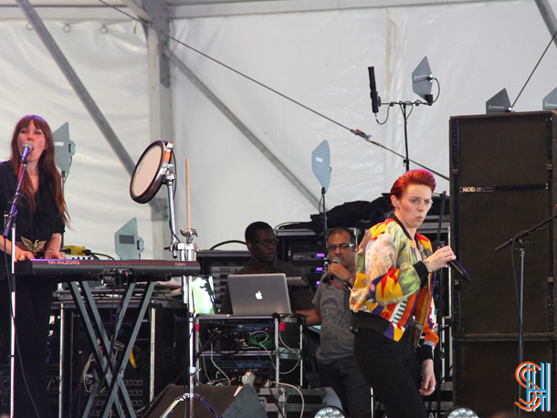 La Roux at Governors Ball 2014