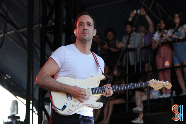 Albert Hammond Jr The Strokes Governors Ball 2014