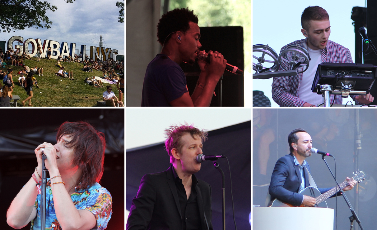 Governors Ball Day 2 Chance The Rapper, Spoon, The Strokes, Disclosure, Broken Bells