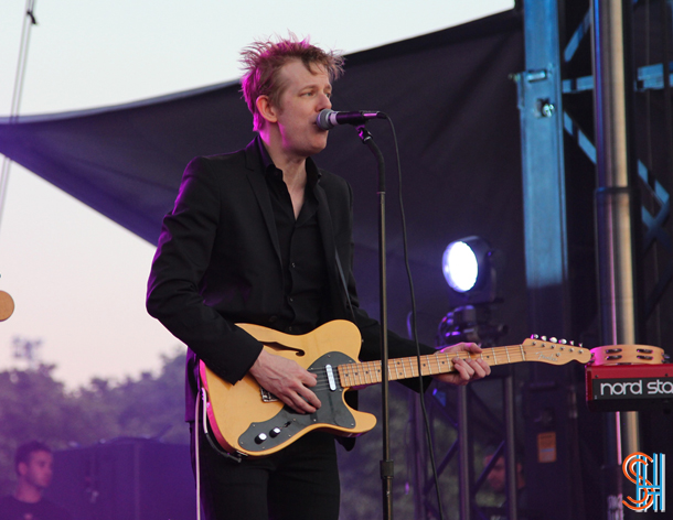 Spoon Britt Daniel Governors Ball 2014