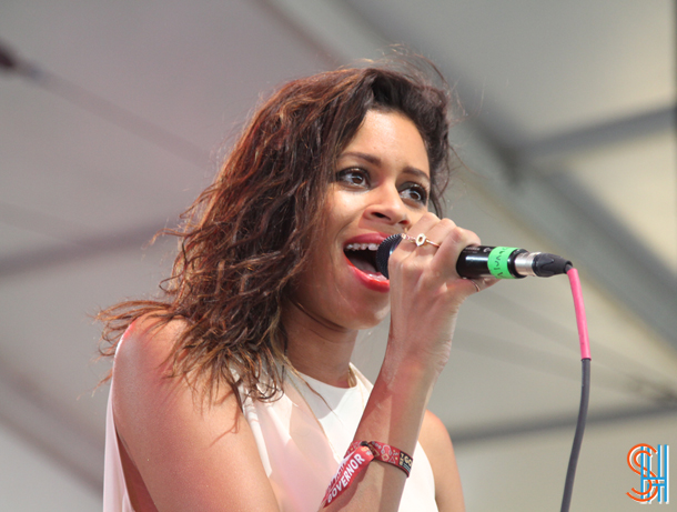AlunaGeorge at Governors Ball 2014