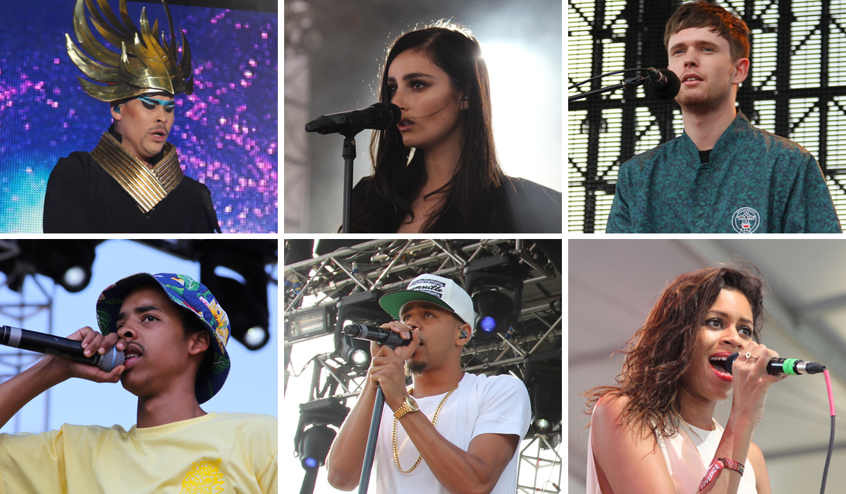 Governors Ball 2014 Empire Of The Sun, Earl Sweatshirt, BANKS, AlunaGeorge, James Blake, J Cole