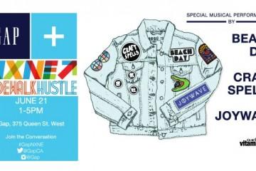 GAP x NXNE X Sidewalk Hustle Show June 21st 2014