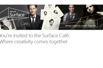 Microsoft Surface Cafe