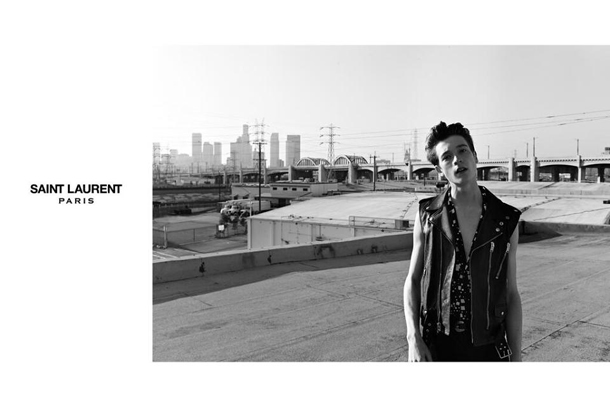Saint Laurent Fall Winter 2014 Jake and Jack Campaign-1