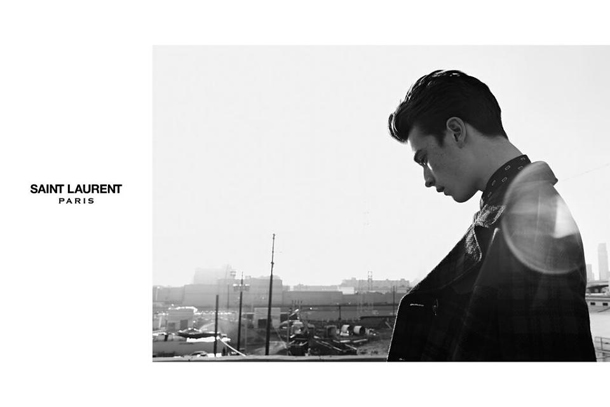 Saint Laurent Fall Winter 2014 Jake and Jack Campaign-3