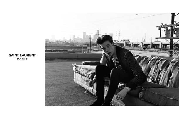 Saint Laurent Fall Winter 2014 Jake and Jack Campaign-4