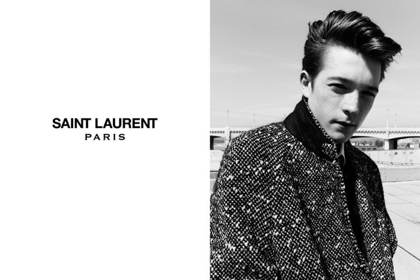 Saint Laurent Fall Winter 2014 Jake and Jack Campaign