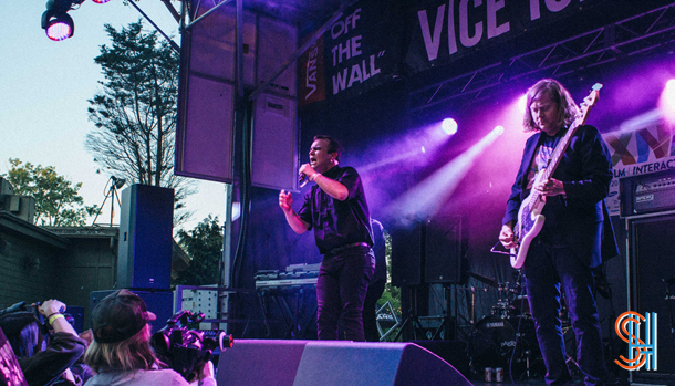 Future Islands at Vice Island NXNE 2014-2