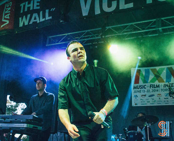 Future Islands at Vice Island NXNE 2014 Samuel T. Herring