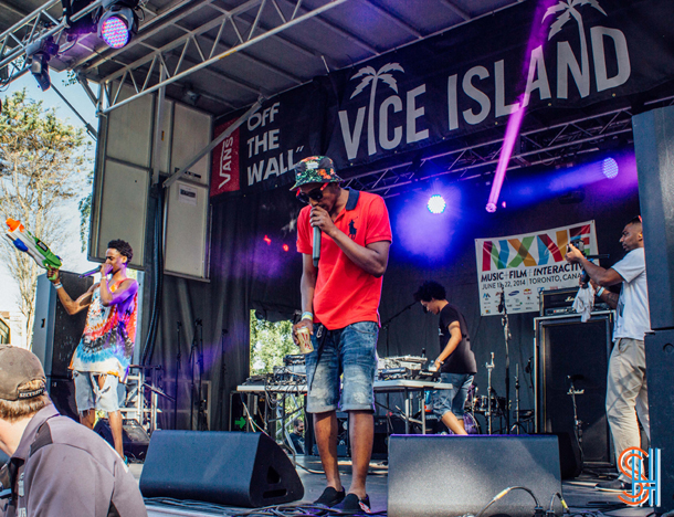 The Posterz at Vice Island NXNE 2014