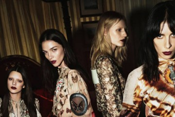 Givenchy Fall Winter 2014 Ad Campaign Kendall Jenner