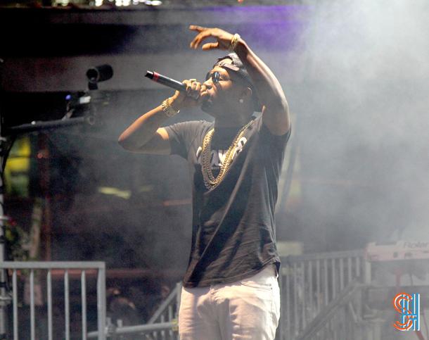 Juicy J Yonge Dundas Square NXNE 2014-2