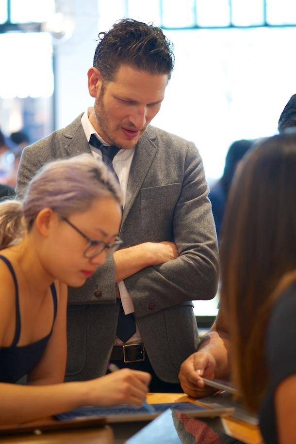Microsoft Surface Cafe Toronto Uri Minkoff