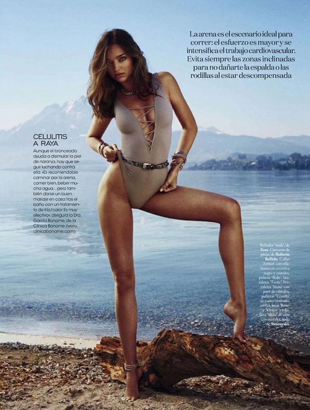 Miranda Kerr for Elle Spain May 2014
