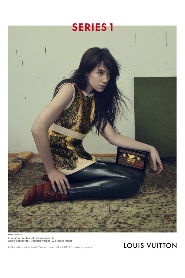 Charlotte Gainsbourg for Louis Vuitton Fall Winter 2014 2015