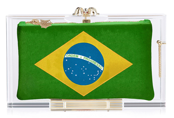 Charlotte Olympia World Cup Collection Hat Trick Pandora Brazil