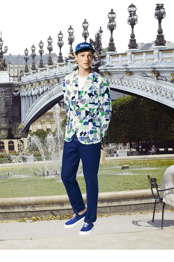 Maison Kitsune SS 2015 Mens Collection-3