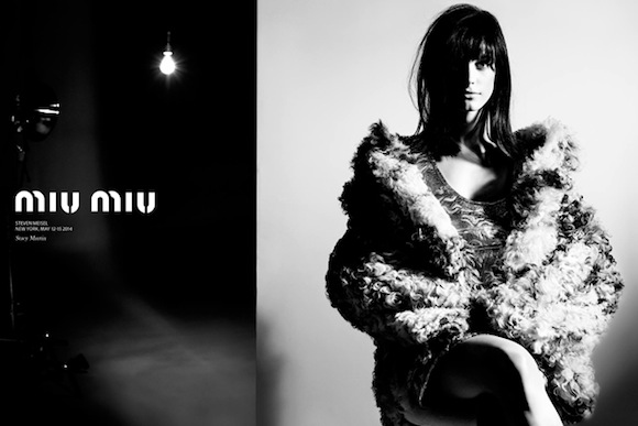Stacy Martin for Miu Miu Fall Winter 2014-2