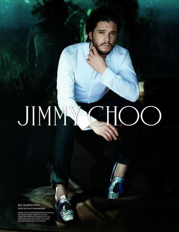 Kit Harington for Jimmy Choo Fall Winter 2014-2