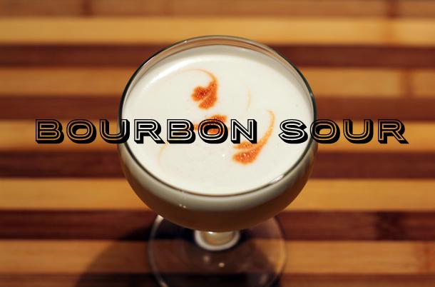 Bourbon Sour