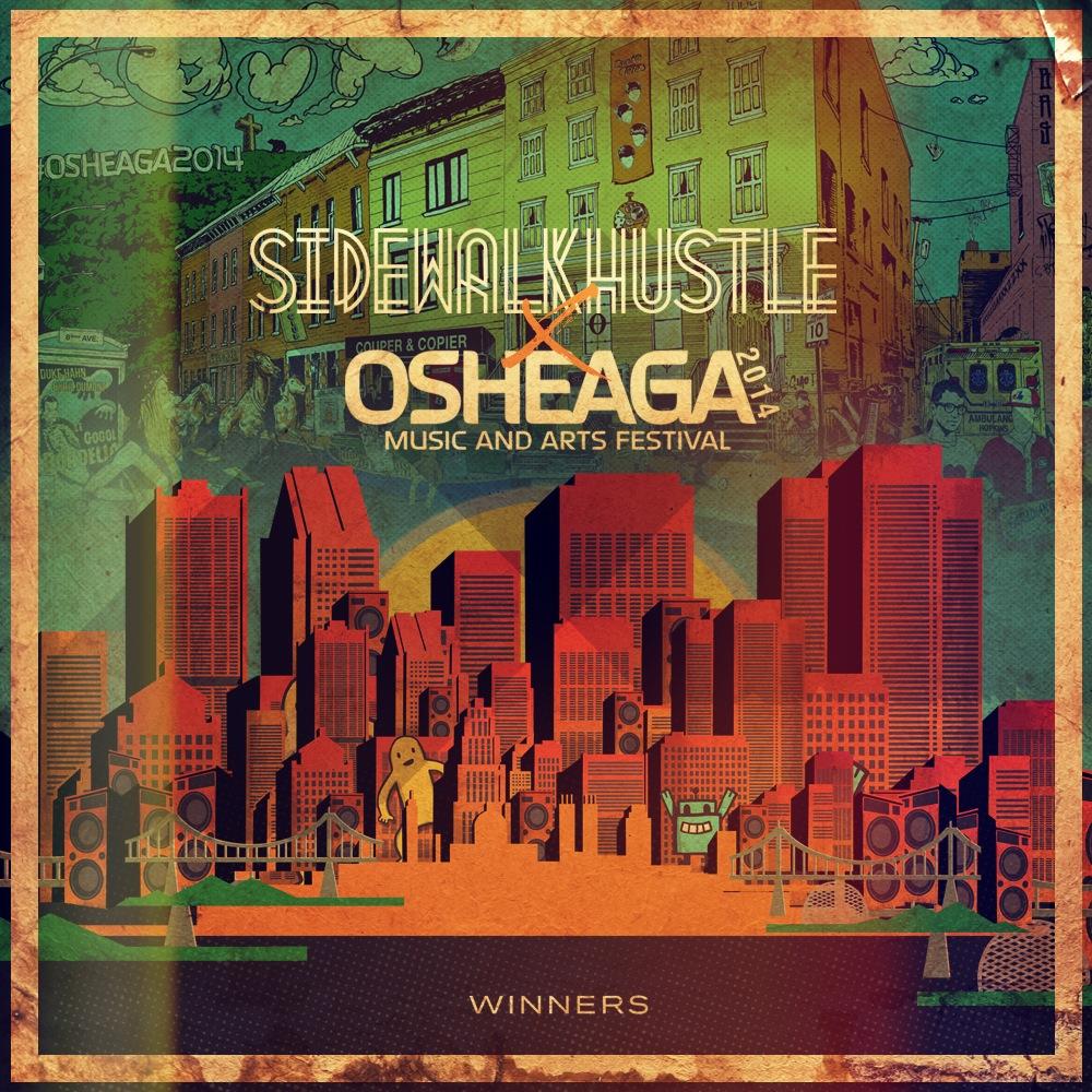 Sidewalk Hustle x Osheaga 2014