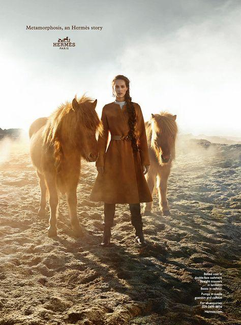 Othilia Simon for Hermes Fall Winter 2014-2